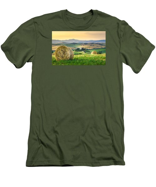 Tuscany Morning Men's T-Shirt (Athletic Fit)