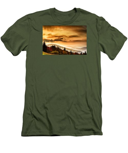 Allegheny Mountain Sunrise Men's T-Shirt (Athletic Fit)