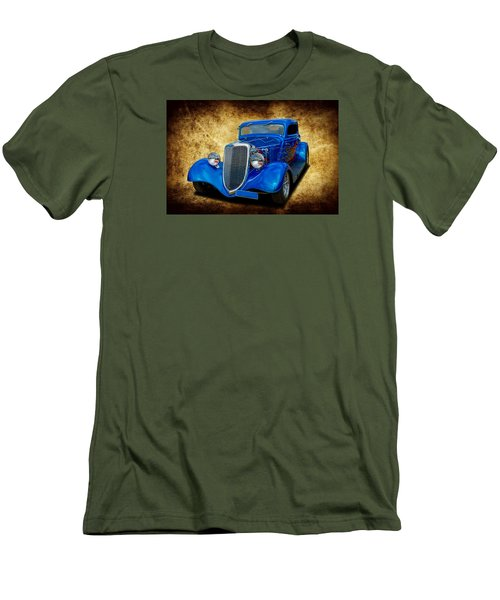 Men's T-Shirt (Slim Fit) featuring the photograph 34 Coupe by Keith Hawley