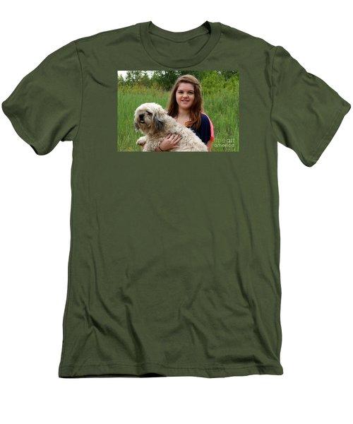 3459 Men's T-Shirt (Slim Fit) by Mark J Seefeldt