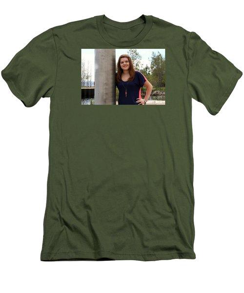 3674 Men's T-Shirt (Slim Fit) by Mark J Seefeldt