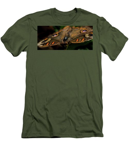 Men's T-Shirt (Slim Fit) featuring the photograph Butterfly by Jay Stockhaus