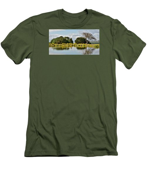 Men's T-Shirt (Slim Fit) featuring the photograph dead Tree by Werner Lehmann