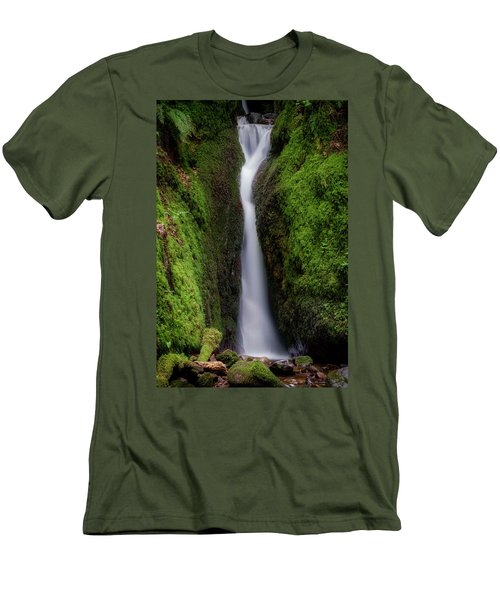 Men's T-Shirt (Athletic Fit) featuring the photograph Dollar Glen In Clackmannanshire by Jeremy Lavender Photography