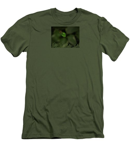 Men's T-Shirt (Slim Fit) featuring the photograph 4361 by Peter Holme III