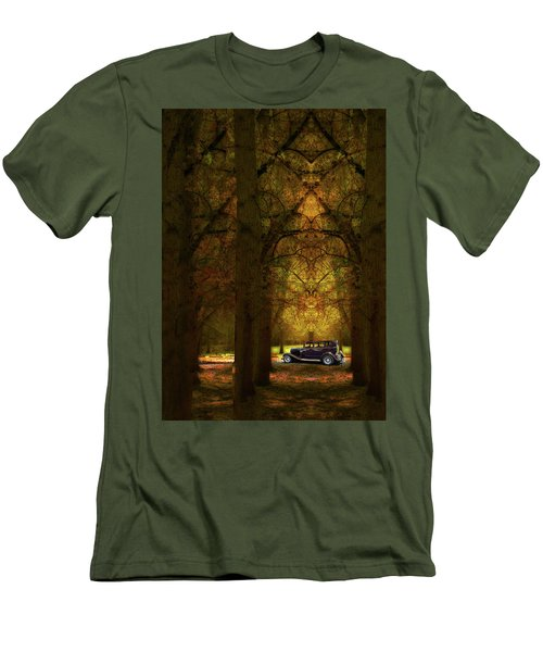 Men's T-Shirt (Slim Fit) featuring the photograph 4390 by Peter Holme III