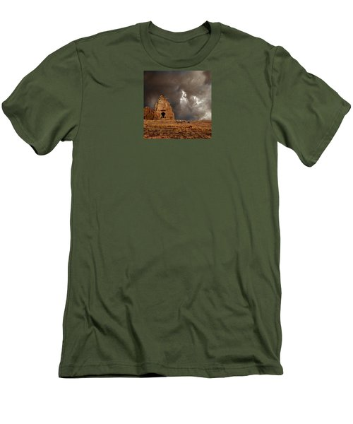 Men's T-Shirt (Slim Fit) featuring the photograph 4398 by Peter Holme III