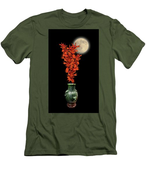 Men's T-Shirt (Slim Fit) featuring the photograph 4406 by Peter Holme III