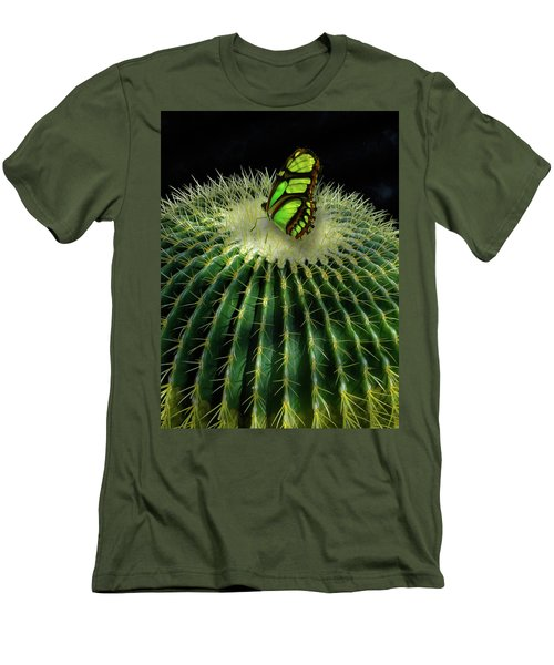 Men's T-Shirt (Slim Fit) featuring the photograph 4409 by Peter Holme III