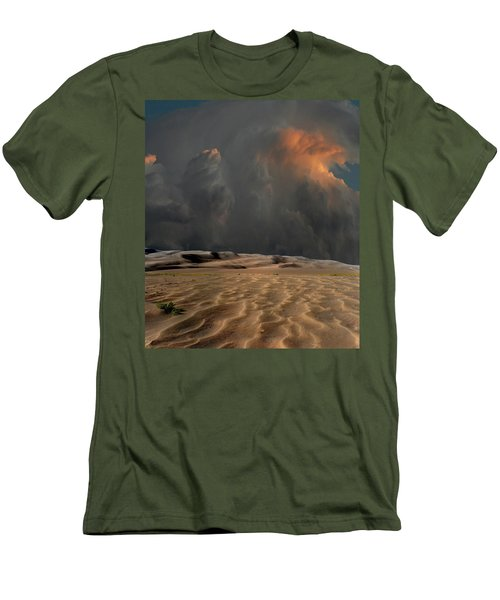 Men's T-Shirt (Athletic Fit) featuring the photograph 4450 by Peter Holme III