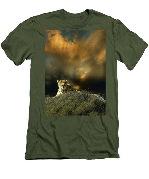 Men's T-Shirt (Athletic Fit) featuring the photograph 4452 by Peter Holme III