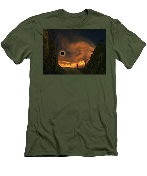 Men's T-Shirt (Athletic Fit) featuring the photograph 4484 by Peter Holme III