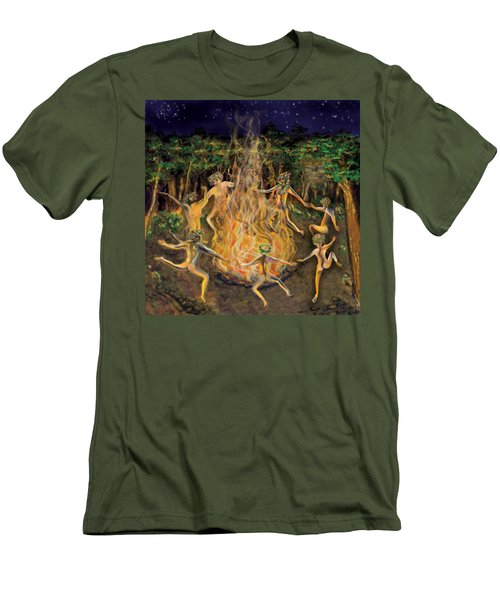 Dancing Naked In The Forest Cd Cover Men's T-Shirt (Athletic Fit)