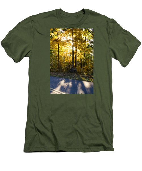 Fall Color Virginia West Virginia Men's T-Shirt (Slim Fit) by Kevin Blackburn