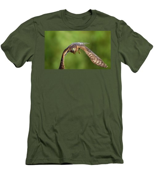 Red-tailed Hawk Men's T-Shirt (Athletic Fit)