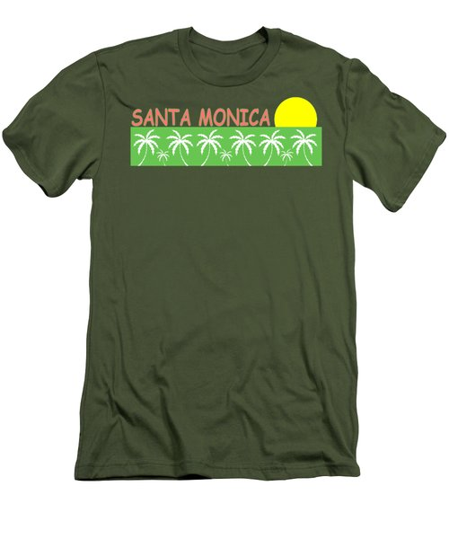 Santa Monica Men's T-Shirt (Athletic Fit)
