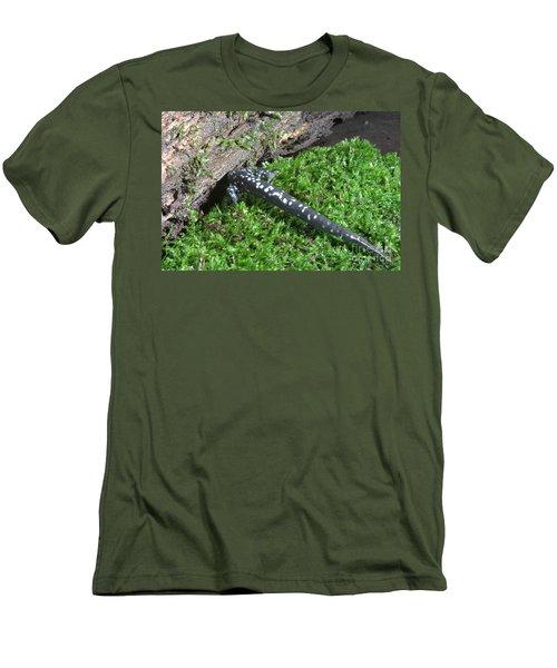 Slimy Salamander Men's T-Shirt (Athletic Fit)