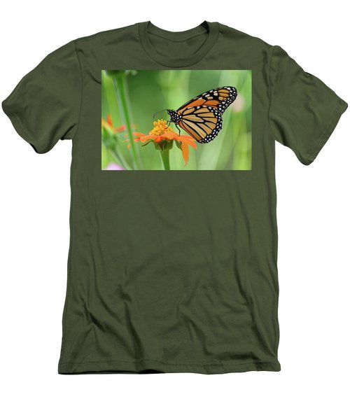 Monarch Men's T-Shirt (Slim Fit) by Ronda Ryan