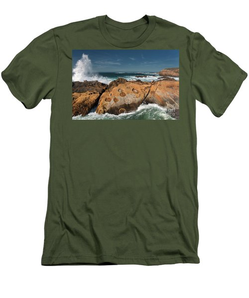 Point Lobos Concretions Men's T-Shirt (Athletic Fit)