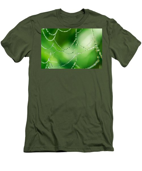 Water Drop Men's T-Shirt (Athletic Fit)