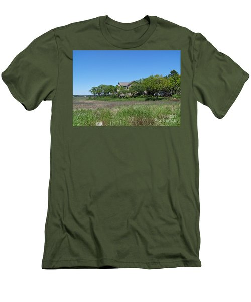 Men's T-Shirt (Slim Fit) featuring the photograph A Beautiful Day by Carol  Bradley