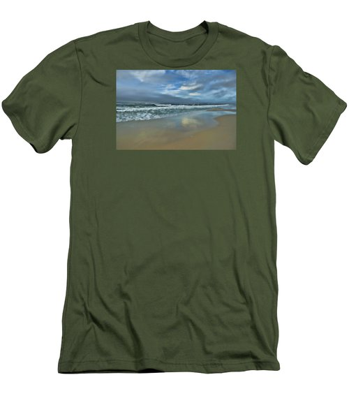 A Beautiful Day Men's T-Shirt (Slim Fit) by Renee Hardison