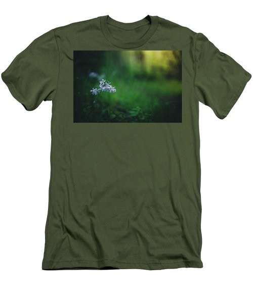 Men's T-Shirt (Slim Fit) featuring the photograph A Bit Of Forest Magic by Shane Holsclaw