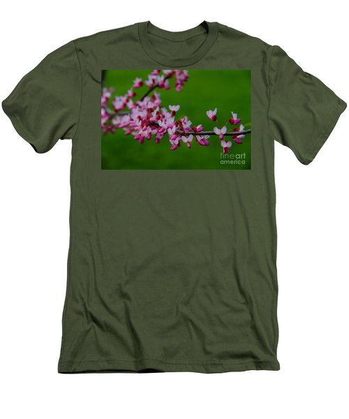 A Branch Of Spring Men's T-Shirt (Athletic Fit)