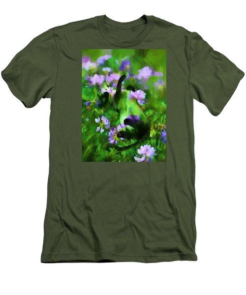 A Cat's Dream Men's T-Shirt (Athletic Fit)