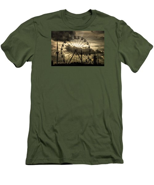 Men's T-Shirt (Athletic Fit) featuring the photograph A Day At The Fair by Chris Lord
