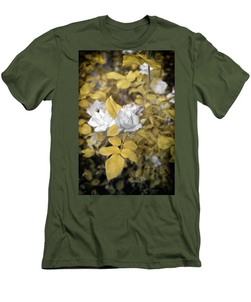A Day In The Garden Men's T-Shirt (Slim Fit) by Paul Seymour