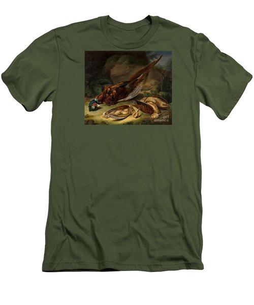 A Dead Pheasant Men's T-Shirt (Slim Fit) by MotionAge Designs