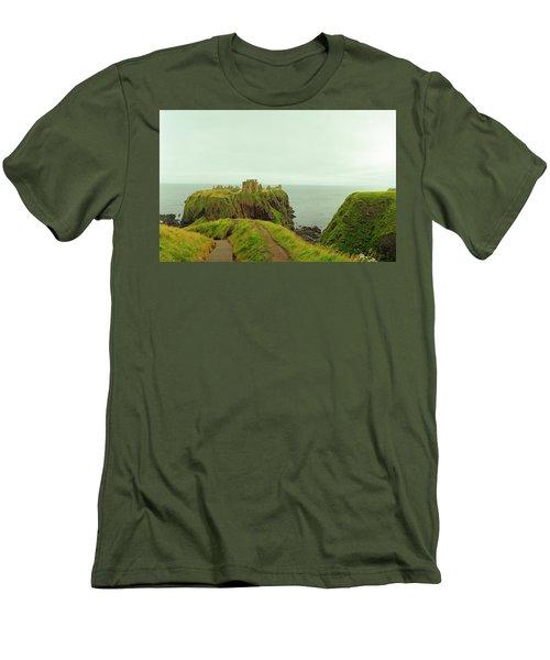 A Defensible Position Men's T-Shirt (Slim Fit) by Jan W Faul