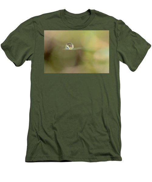 A Drop Of Subtlety Men's T-Shirt (Slim Fit) by Janet Dagenais Rockburn