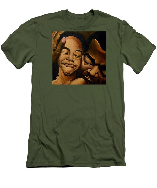 A Father's Love Men's T-Shirt (Slim Fit) by William Roby