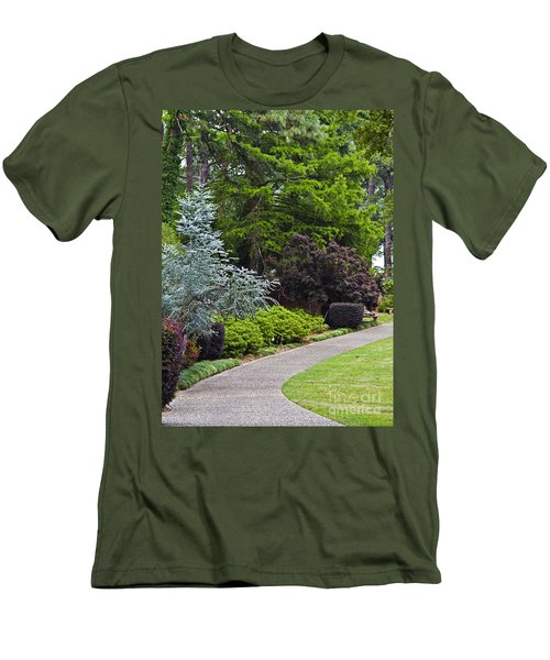 A Garden Walk Men's T-Shirt (Athletic Fit)