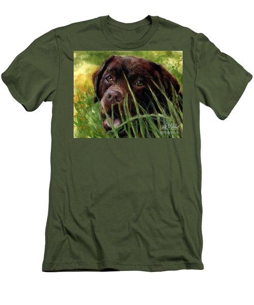 A Gardener's Friend Men's T-Shirt (Slim Fit) by Molly Poole