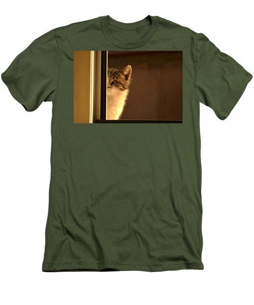 A Half-portrait Men's T-Shirt (Athletic Fit)