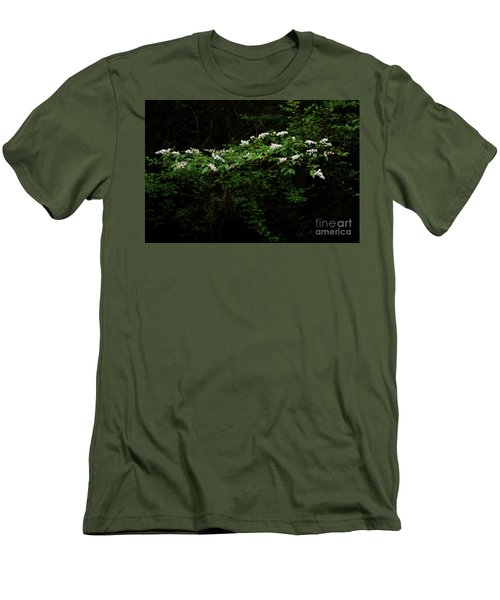 Men's T-Shirt (Slim Fit) featuring the photograph A Light In The Darkness by Skip Willits