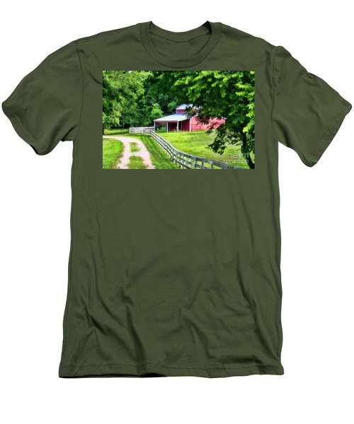 A Little Bit Country Men's T-Shirt (Athletic Fit)