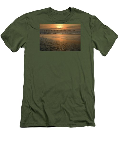 Men's T-Shirt (Slim Fit) featuring the photograph A New Day Dawning by Renee Hardison