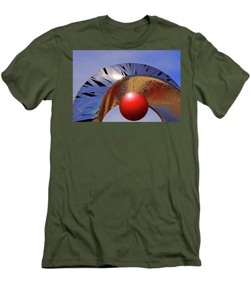 Men's T-Shirt (Slim Fit) featuring the photograph A New Horizon by Christopher McKenzie