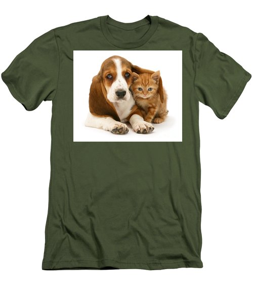 A New Meaning To Cat Flap Men's T-Shirt (Athletic Fit)