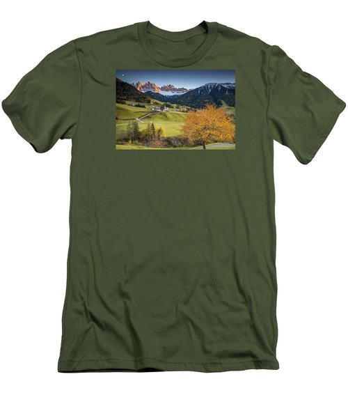 A Night In Dolomites Men's T-Shirt (Athletic Fit)