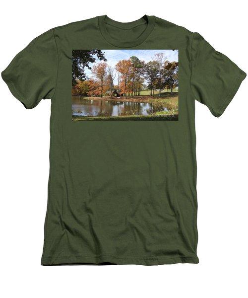 A Peaceful Spot Men's T-Shirt (Athletic Fit)