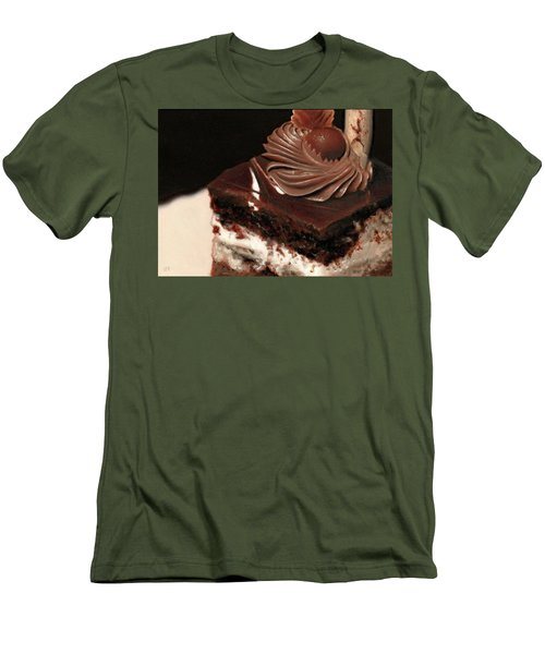 A Piece Of Cake Men's T-Shirt (Athletic Fit)