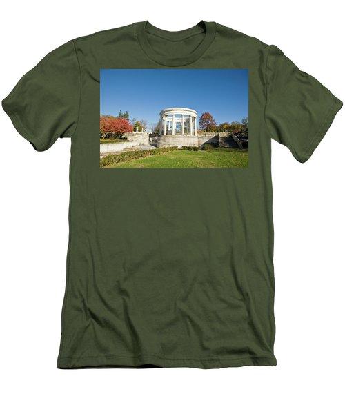 A Place Of Peace Men's T-Shirt (Slim Fit) by Jose Rojas