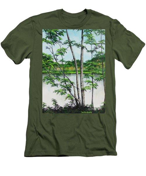 A Place Of Refuge Men's T-Shirt (Athletic Fit)