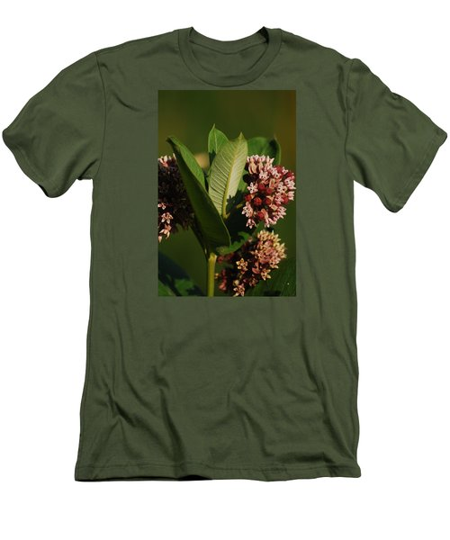 Men's T-Shirt (Slim Fit) featuring the photograph A Pretty Bouquet by Ramona Whiteaker