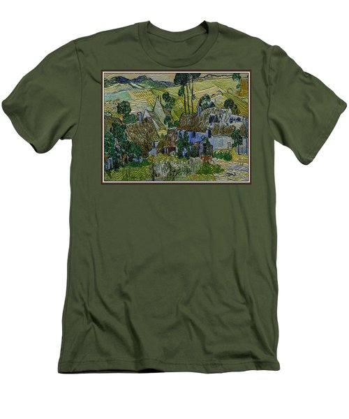 A Replica Of A Painting  Of Van Gogh Men's T-Shirt (Slim Fit) by Pemaro